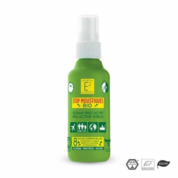E2 Stop Moustiques Répulsif Insectes 100% Bio | E2 Essential Elements