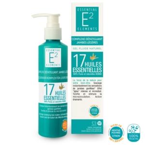 Complexe Jambes Légères 100% Naturel aux 17 Huiles Essentielles | E2 Essential Elements