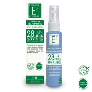 Spray Respiratoire 100% Naturel aux 28 Huiles Essentielles | E2 Essential Elements