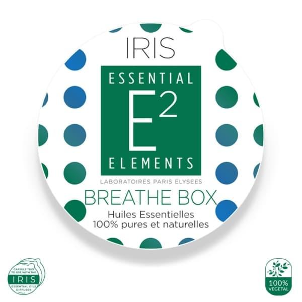 Breathe Box pour Diffuseur IRIS aux 28 Huiles Essentielles | E2 Essential Elements