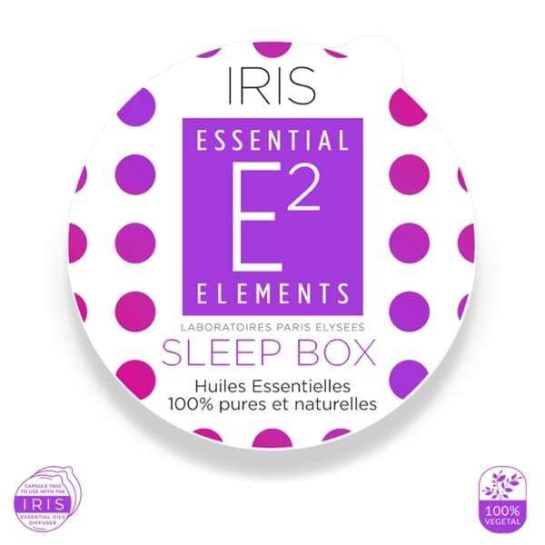 Sleep Box pour Diffuseur IRIS aux 21 Huiles Essentielles | E2 Essential Elements